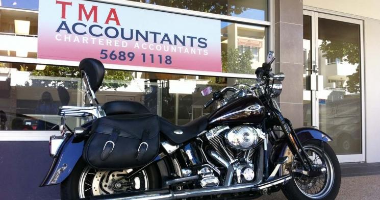TMA-Accountants-bike-and-sign